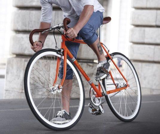 Peugeot Legend: Vintage-Räder sind in Frankreich wieder voll angesagt.