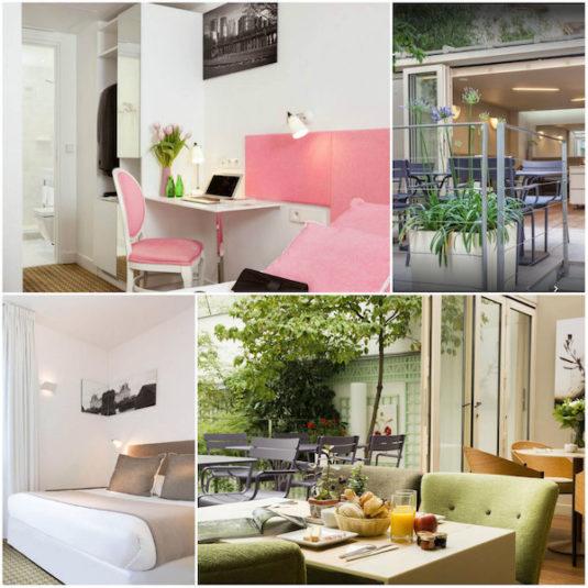 Hotel Mistral im Viertel Montparnasse
