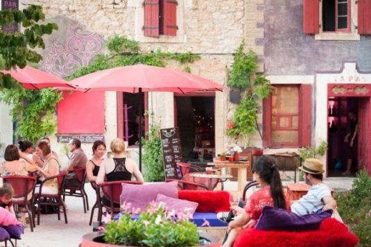 Ferienhäuser im Village Castigno