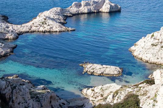 Ile du Frioul bei Marseille