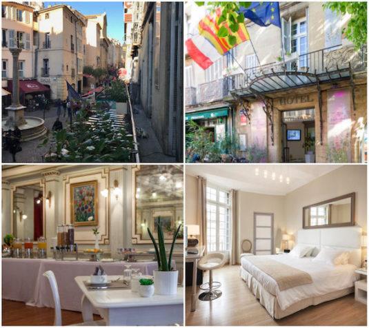 Hotel de France im alten Stadtzentrum Aix-en-Provence