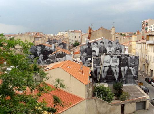 Aussicht von der Friche La Belle Mai in Marseille