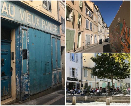 Viertel Le Panier in Marseille