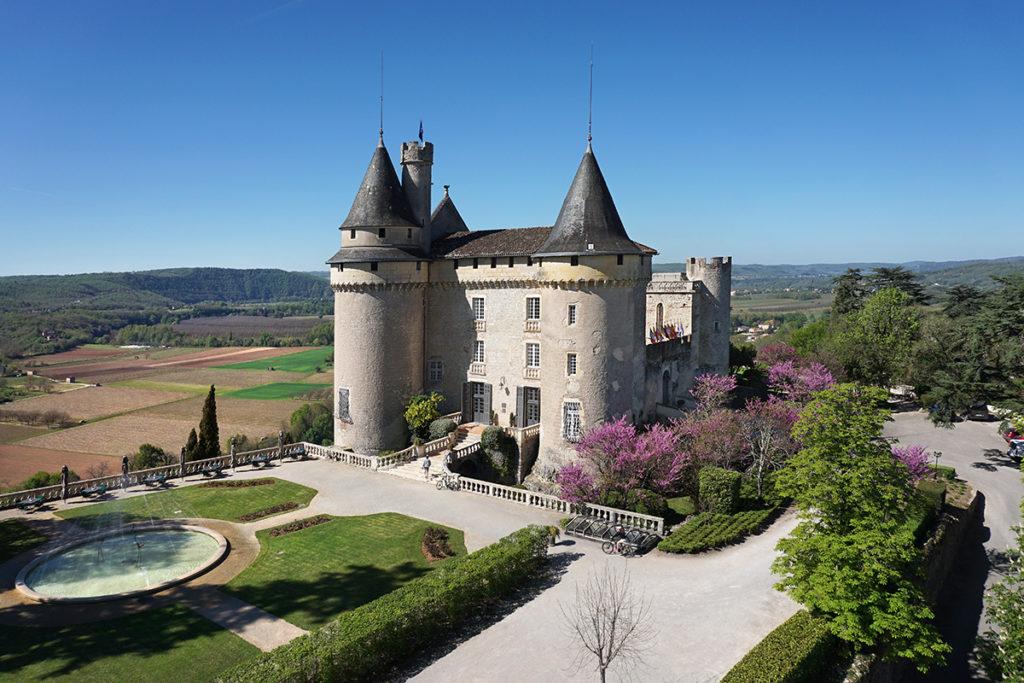 Château de Mercuès Frankreich