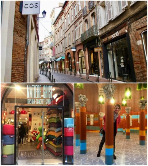 Rund um die Place St. George in Toulouse