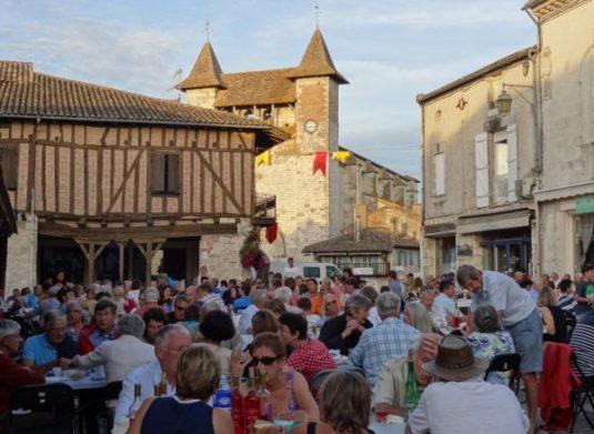 Dorf Villereal Lot-et-Garonne