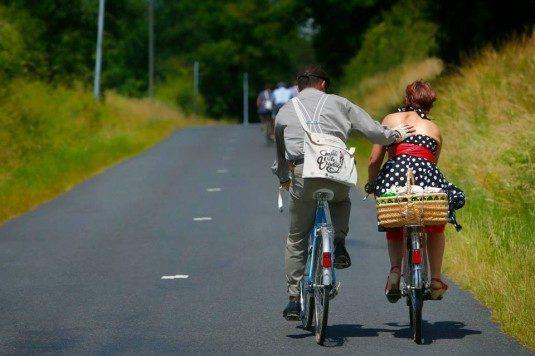 Anjou Vélo Vintage, Radtour durchs Loire Tal