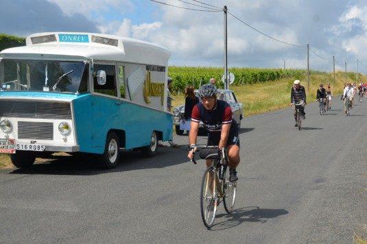 Anjou Vélo Vintage, tolles Fahrrad-Event im Loire-Tal