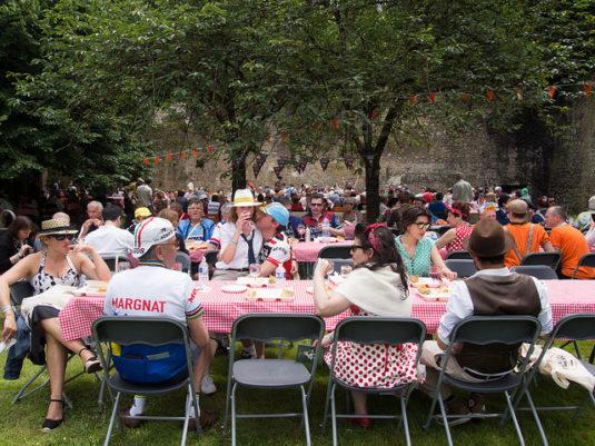 Picknicks und allerlei Vorführungen und Workshops