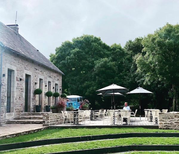 Bot-Conan Glamping Bretagne Garten