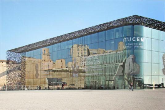 Das MuCem, ein Entwurf des Architekten Rudy Ricciotti