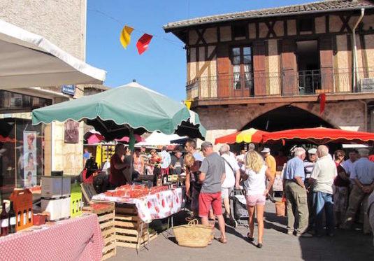 Villereal: Markt am Samstag