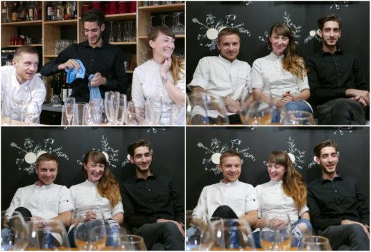 Team vom Restaurant Le Cromagbon in Bordeaux