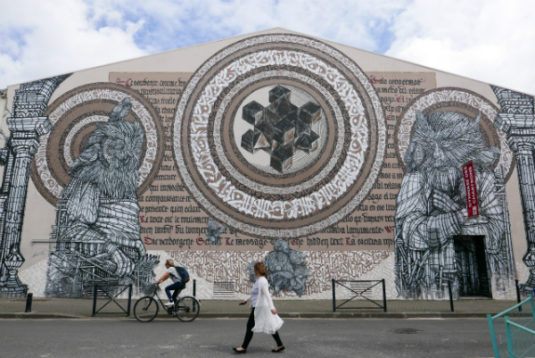 Street Art Strassenkunst Bordeaux