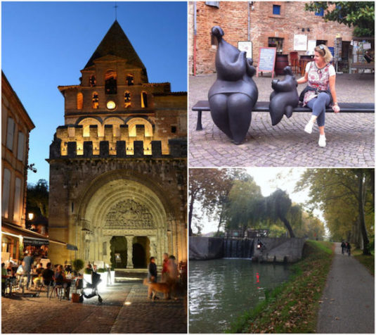 Stadt Moissac (Departement Tarn-et-Garonne)