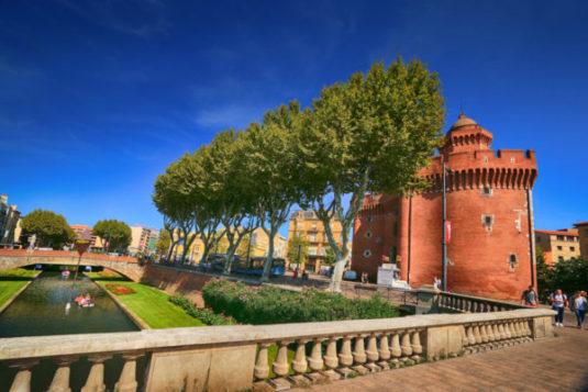 Historische Stadt Perpignan