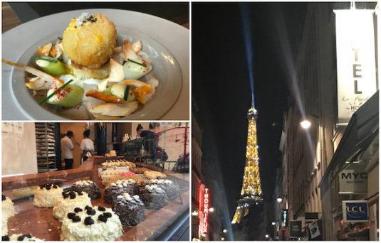 Restsaurants und Geschäfte Rue St Dominique in Paris