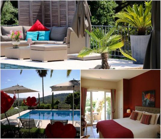Villa Cedria: B&B im Hinterland der Côte d'Azur