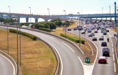 In den Ferien kann es in Frankreich auf den Autobahnen sehr voll werden