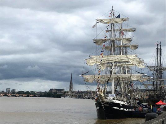 die schönsten Segelschiffe der Welt beim Bordeaux Fete le Vin
