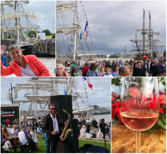 Ulrike & Carole feiern den Weinfest Bordeaux Fete le Vin