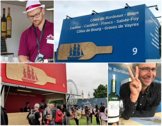 Wein probieren beim Bordeaux Fete le Vin