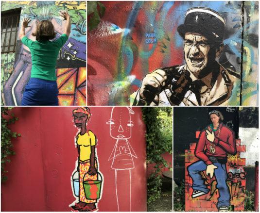 Die Kunst der Straße in Bordeaux - street art
