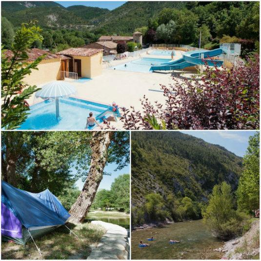 Campingplatz Domaine du Verdon, Castellane