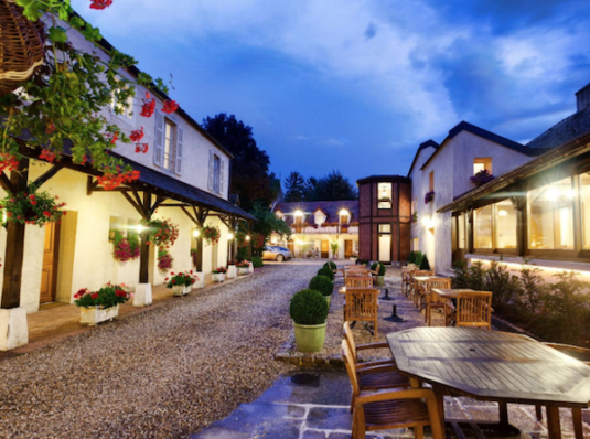 Zwischenstopp Hotel nördlich von Lyon in Burgund