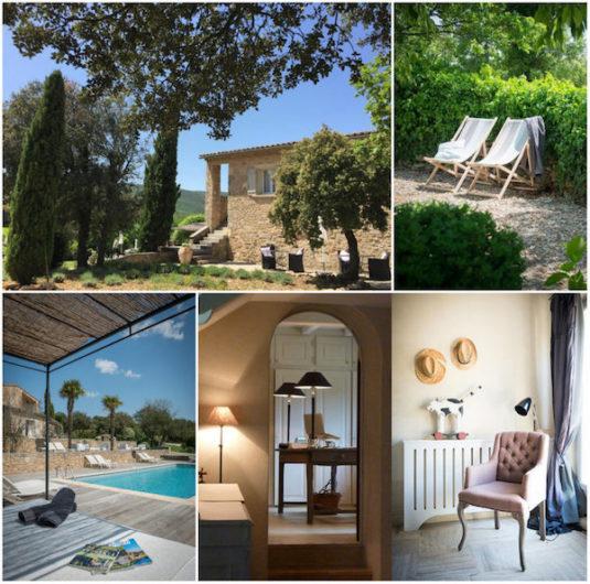 Maison Valvert: B&B, Baumhaus, gîtes in der Provence