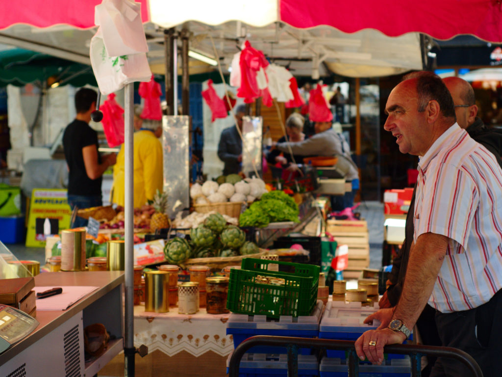 Périgueux Markt Dordogne