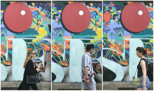 Street Art - Strasse Künstler in Bordeaux