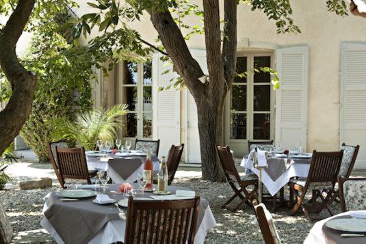 Restaurant von Chateau de Siran