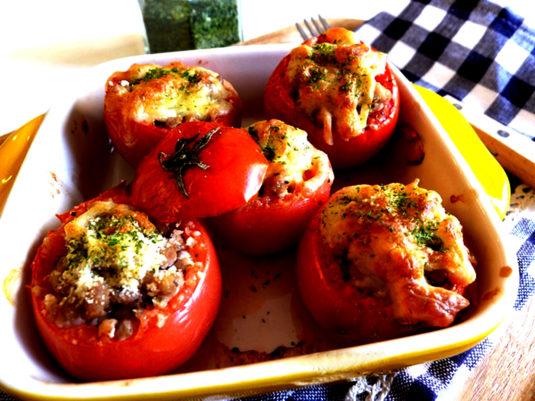 Uzes Tomates farcies à la Provençale
