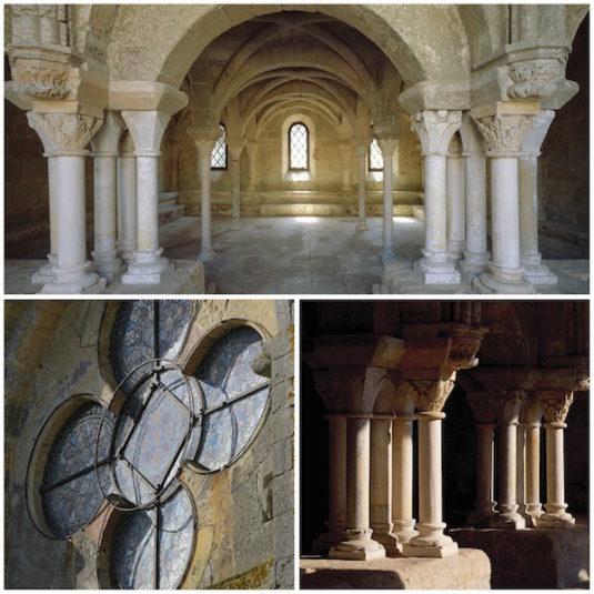 Abtei de Fontfroide Architektur