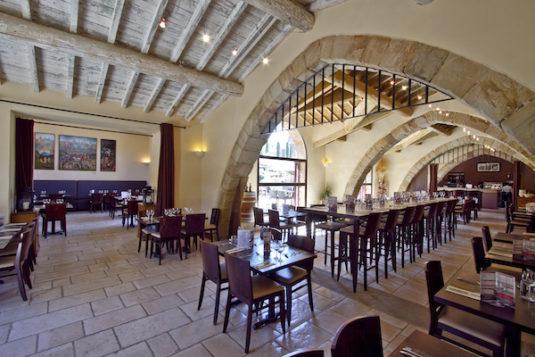 Abtei de Fontfroide Speisesaal