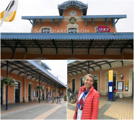 Mit dem Zug nach Arcachon von Bordeaux