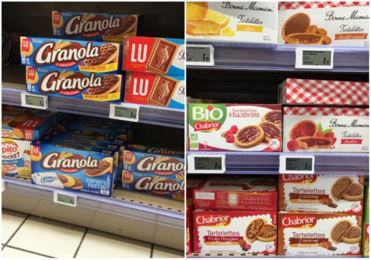 Bonne Maman Lu Granola französisch supermarkt