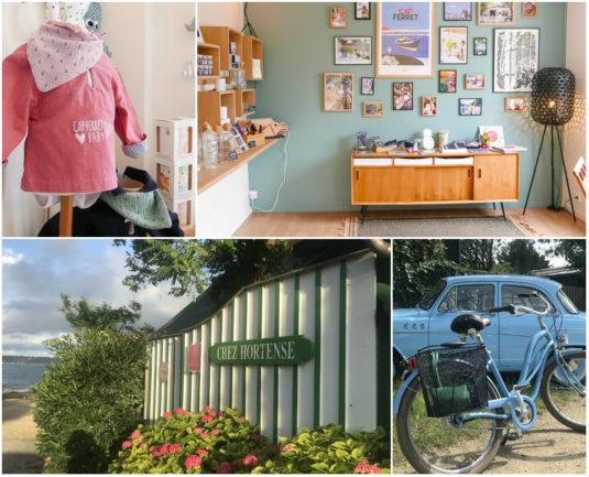 Office de tourisme du Cap Ferret, Fahrrad und Restaurant