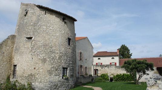 Charroux Auvergne Zwischenstop im Süden