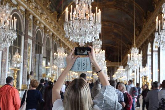 Chateau de Versailles Spiegelzimmer