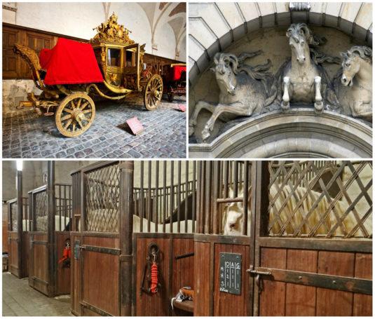 Chateau de Versailles Ställe