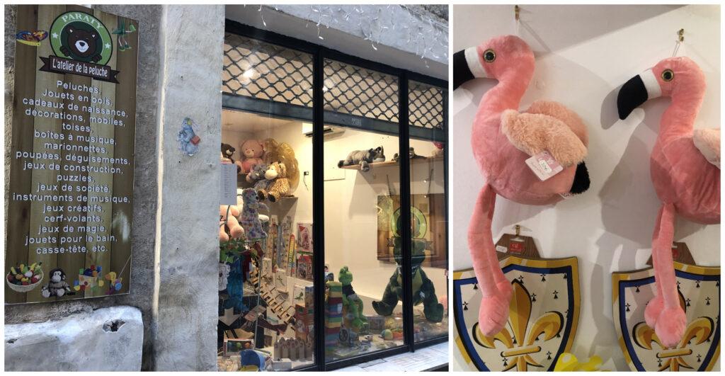 collage atelier de la peluche Montpellier