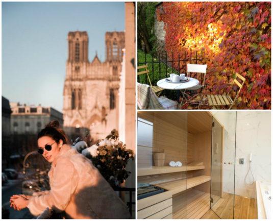 Demeure des Sacres Reims chambres d'hôtes luxe