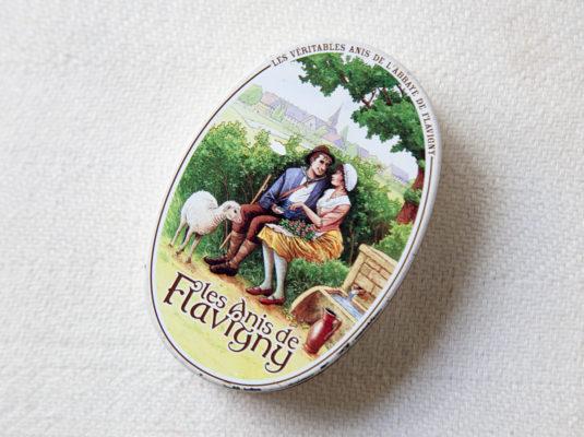 französische Süßigkeiten anis de Flavigny