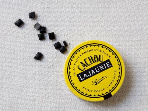 französische Süßigkeiten Cachou