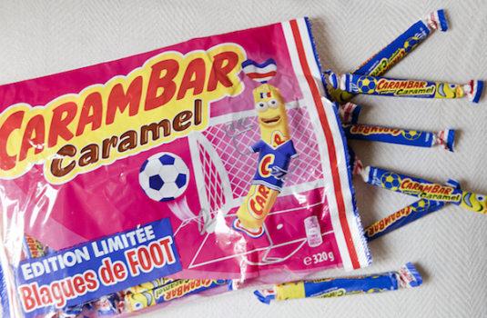 französische Süßigkeiten Carambar