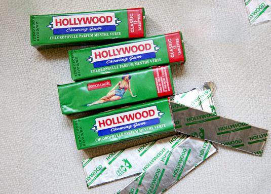 11/5000 französische Süßigkeiten Hollywood Kaugummi