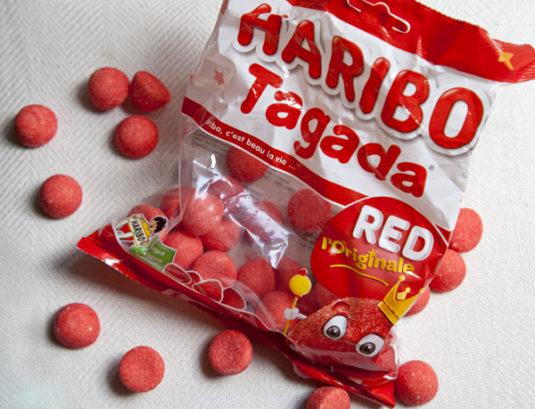 französische Süßigkeiten Tagada Haribo