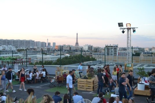 Hippe Terrasse in Paris: Le jardin Suspendu